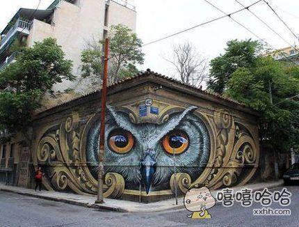 街头惊艳的涂鸦