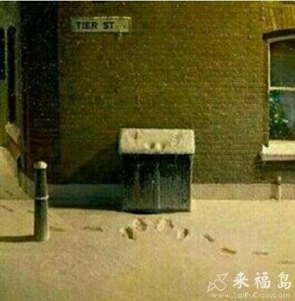 有故事的下雪天