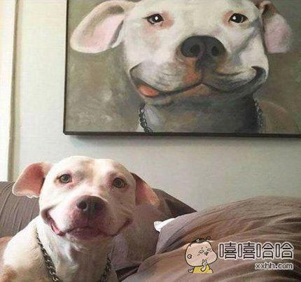 笑容好灿烂啊。