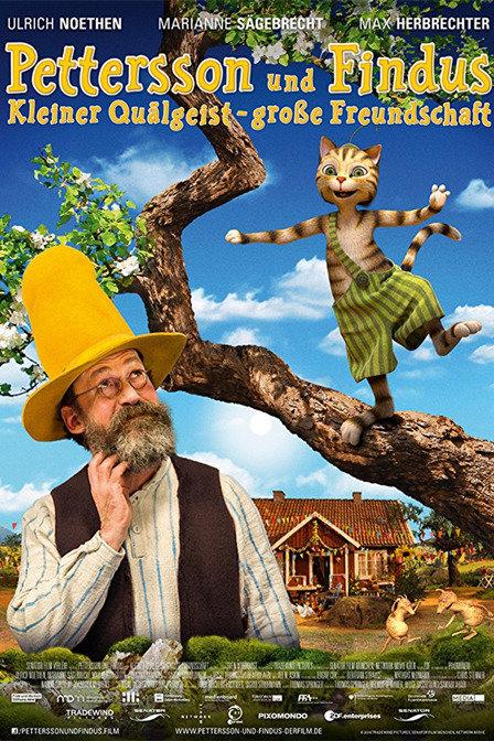 派特森和芬达猫-小活宝与忘年交
